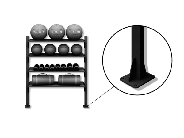 fitgear solutions floor mount kit